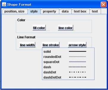 Java Drawing - Editing Shapes